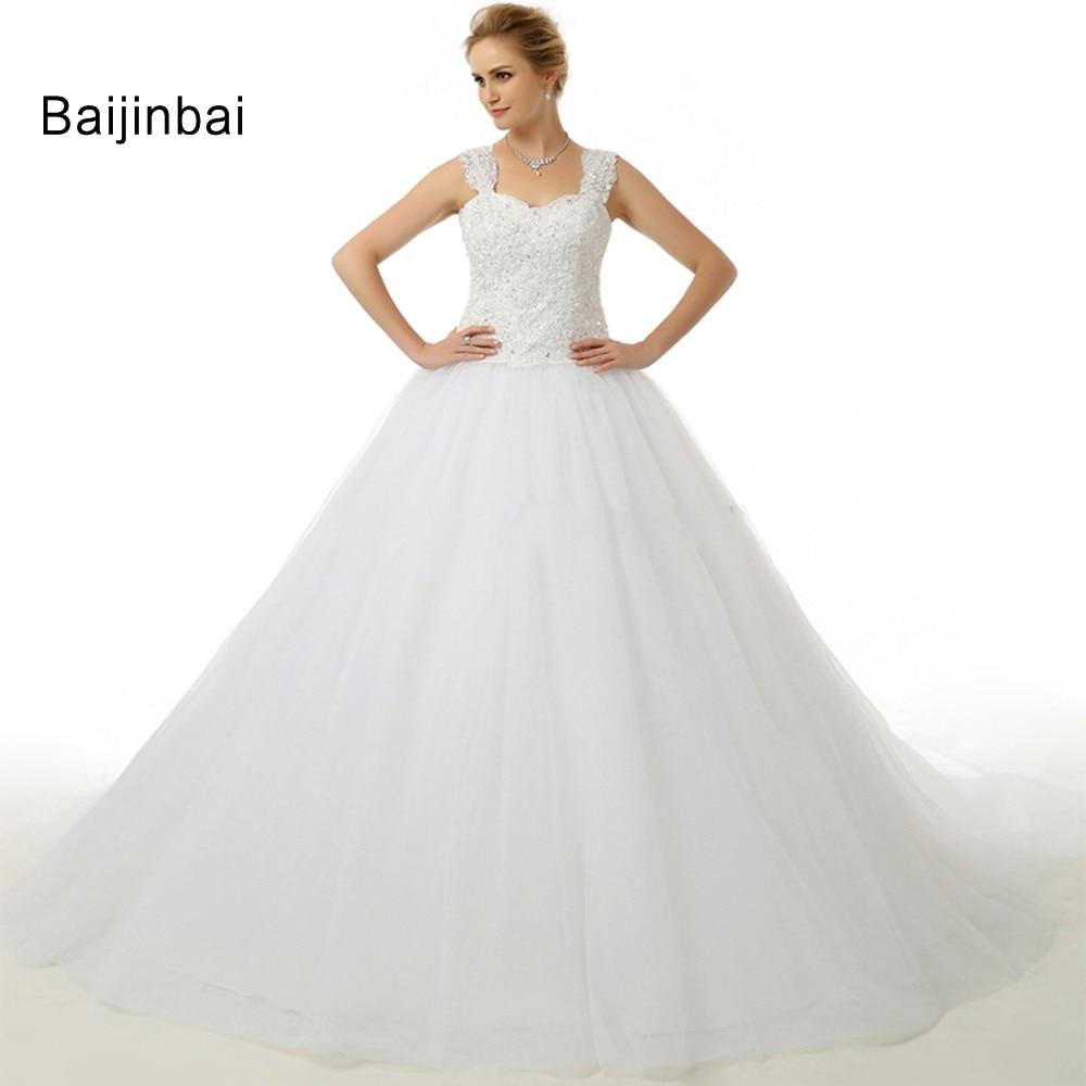 Baijinbai RealWedding Dress 2018 Fashion Bridal Wedding