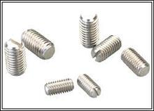 M4 Slotted Set Screws With Flat Point Stainless Steel Grub Screw