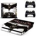 Novo Batman PS4 adesivo da pele para Sony Playstation 4 PS4 Console película de proteção e tampa decalques de 2 controlador