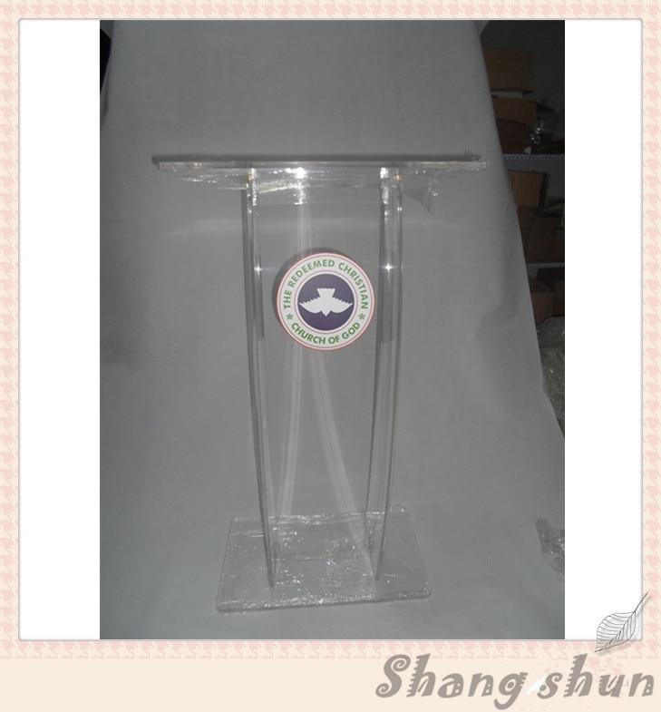 Modern Acrylic Podium Acrylic Podium Stand Acrylic Church Pulpit Pulpit For Church Classroom Lectern Podium