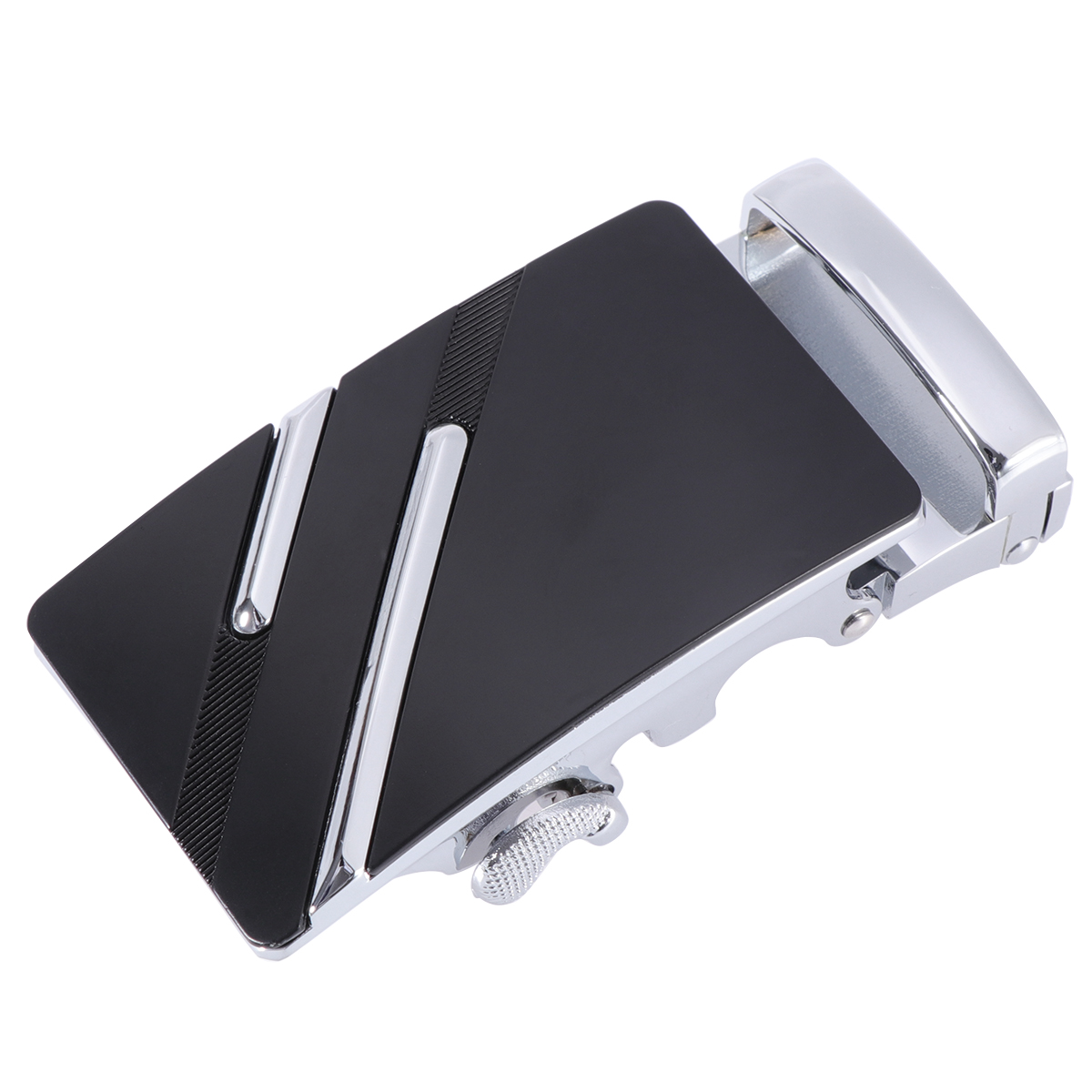 Fashion Men's Business Alloy Automatic Buckle Unique Men Plaque Belt Buckles For 3.5cm Ratchet Men Apparel Accessories