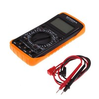1 ADET Yeni DT9205A Dijital Multimetre LCD AC/DC Ampermetre Direnç Kapasite Transistör Test Tanı-aracı VEH61 P50