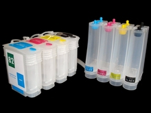 1 set Empty Continuous Ink Supply System CISS for hp 10 82 HP Designjet 500 500ps 800 800ps 815m Inkjet Printer With Chip