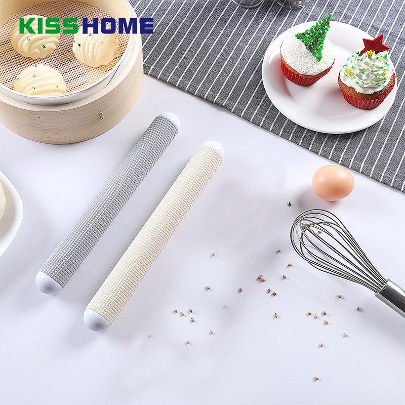 1pcs High Quality Non-stick Floating Point Exhaust Rolling Pins Dumpling Wrapper Dough Roller Home Kitchen Baking Pastry Tools Kitchen,dining & Bar Bakeware