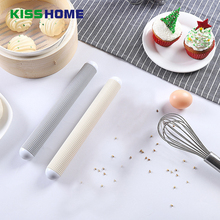 цена на 1 Pcs Dumpling Skin Rolling Pin Plastic Floating Point Exhaust Air Baking Accessories Non-stick Noodles Rolling Stick