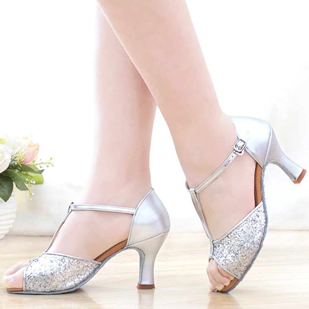 2017 Summer Adult Ladies Girl Woman Ballroom Latin Dance font b Shoes b font High Heel