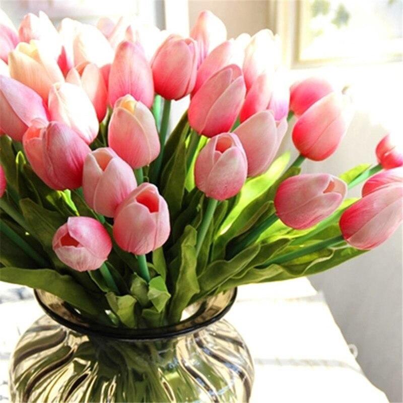tulipe bouquets de fleurs-achetez des lots à petit prix tulipe