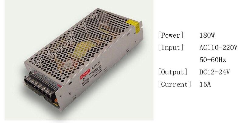 DC 12V LED strip driver Power Adapter 1A 2A 3A 5A 10A 15A 20A Switch Power Supply AC110V-220V 24V Transformer Power 60W 78W 120W (4)