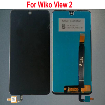 "Best Quality Working 720X1528 6"" LCD Display Touch Panel Screen Digitizer Assembly For Wiko view 2 View2 Phone Sensor Parts"
