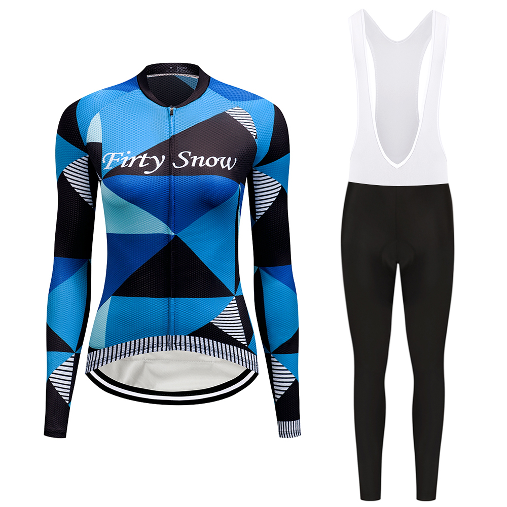 Cycling jersey womens breathable 9D seamless cut long sleeve shirts MTB ropa de ciclismo profesional bicycle clothing