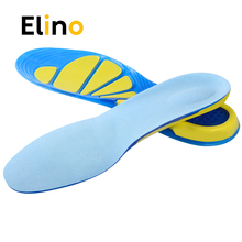 Elino Massage Sport Soft Insoles for Men Women Shoes Plantar Fasciitis Insert Cushions Pad Shock Absorption Foot Care Cup Sole
