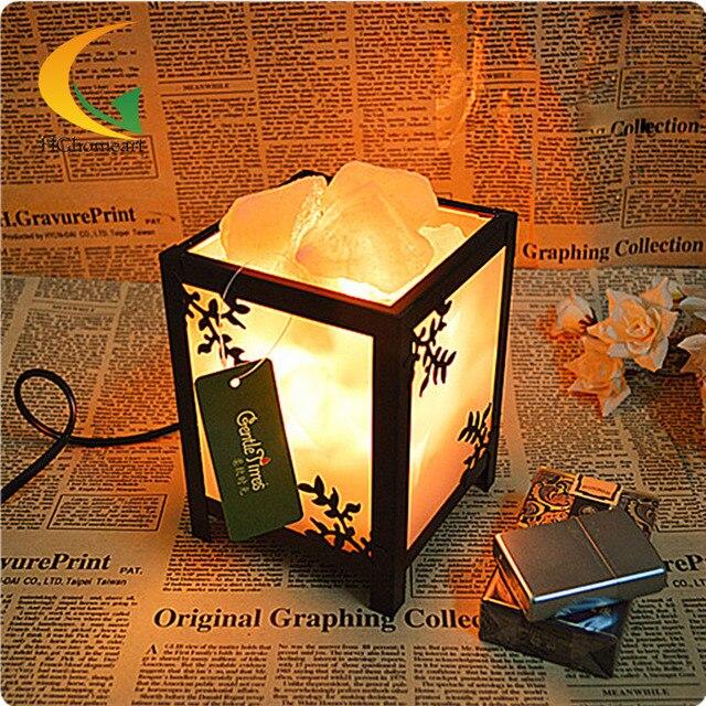 Соль лампы спальни современный творческий прикроватные тумбочки, настольные лампы диммер лампы накаливания освещения звездная ночь