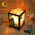 salt lamps bedroom modern creative bedside table lamp dimmer incandescent lamp lighting nightlights