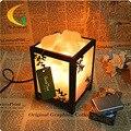Sal lâmpadas quarto moderno cabeceira criativo candeeiro de mesa dimmer lâmpada incandescente iluminação nocturna cintilante