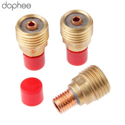 dophee 3PCS Gas Lens Collets Body Gas Lens 45V44 3/32