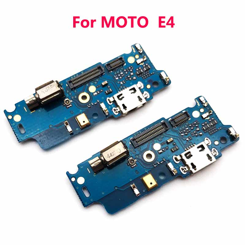 Image 2 - 50pcs/lote For Moto E4 E4 plus E4T USB Charging Port Dock Plug Jack Connector Charge Board Flex cable with Microphone Vibrator-in Mobile Phone Flex Cables from Cellphones & Telecommunications