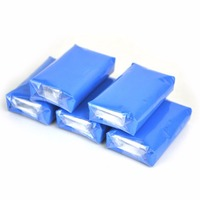 5Pcs 100g Overspray Rail Dust Brake Dust Pollution Magic Clay Bar Car Auto Cleaning Remove Detailing