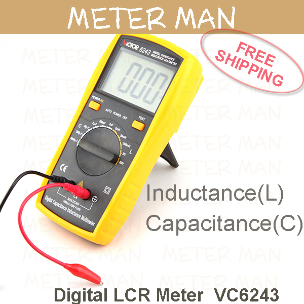 Lcr Meter High Voltage : Digits counts high accuracy inductance