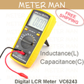 3 1/2 Digits 2000 Counts High Accuracy Inductance  Capacitance Digital LCR Meter  VC6243