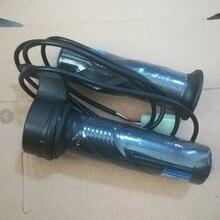 24 В 36 в 48 в электрический скутер велосипед поворотный захват дросселя 3 провода E-Bike черный электрический велосипед сцепление