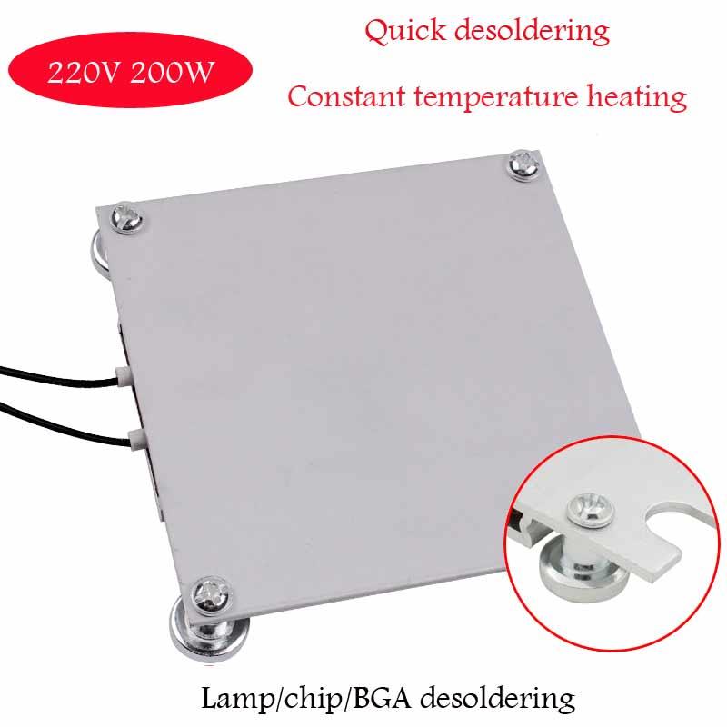 Heating plate preheating station…