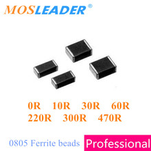 Chip ferrite bead 0805 4000pcs 0R 10R 30R 60R 220R 300R 470R 2012 Ferrite beads Datasheet inside High quality