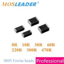 ชิป ferrite bead 0805 4000 pcs 0R 10R 30R 60R 220R 300R 470R 2012 ลูกปัดเฟอร์ไรต์ข้อมูลภายในคุณภาพสูง