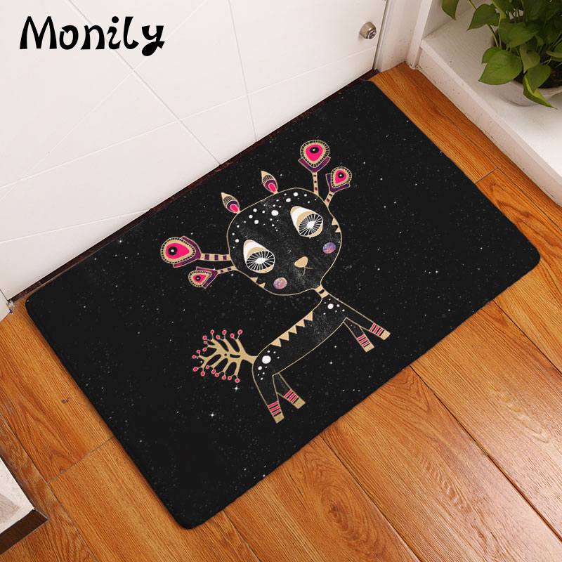 Monily Waterproof Anti-Slip Floor Mat Lovely Cartoon Animals Insect Carpets Bedroom Rugs Decorative Stair Mats Home Decor Crafts