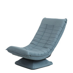 Silla giratoria de 360 grados para videojuegos, silla de ángulo ajustable, silla plegable para el suelo, muebles para el salón, diseño ergonómico