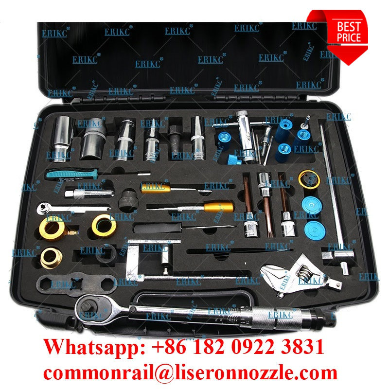ERIKC Liseron Diesel Injector Removal and Common Rail Injectors Repair Tools Assemble Disassemble Tools for CR