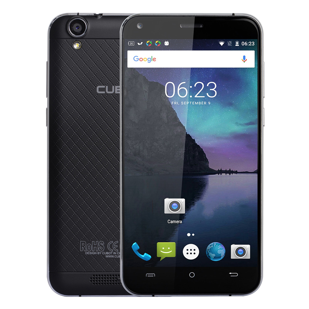 Original Cubot Manito Android 6.0 5.0 Inch 4G Smartphone MTK6737 Quad Core 1.3GHz 3GB RAM 16GB ROM Bluetooth A-GPS Mobile Phone