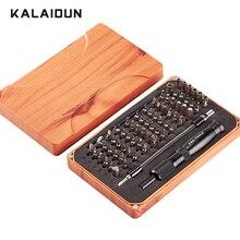 KALAIDUN 69 في 1 طقم مفك برغي مع 66 بت المغناطيسي سائق عدة أدوات يدوية إلكترونيات إصلاح عدة أدوات