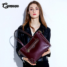 Women Genuine Leather Handbags 2019 New High Quality Handbag Luxury Bags Designer Womens Large-Capacity