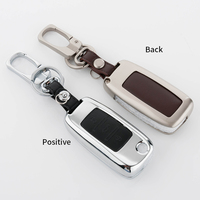 Car Key Cover Skin Case Fit Set For Volkswagen VW Polo B5 B6 Golf 4 5