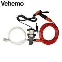 12V 70W 130 PSI 6 L Min High Pressure Self Priming Car Electric Wash Water Pump