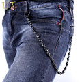 U7 Skull Biker Wallet Chains Jesus Cross Keychain Belt Rock Punk Black Gunmetal Motorcyle HipHop Pant Jean Chain Men Jewelry J07