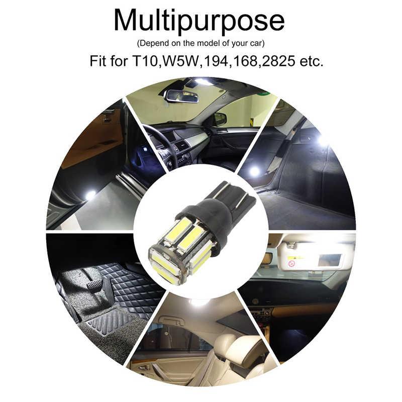 10 Uds Auto T10 194 W5W Led Interior del coche luces de mapa para BMW e46 e39 e90 e60 e36 f30 f10 e30 e34 r1200gs x5 e53 f20 e87 e92 m e70