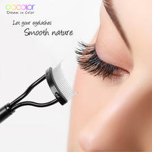 Mascara Guide Applicator Eyelash Comb Eyebrow Brush Curler