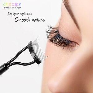 Image 4 - Docolor Make up Mascara Guide Applicator Eyelash Comb Eyebrow Brush Curler Beauty Essential Cosmetic Tool  Eye Makeup Tools