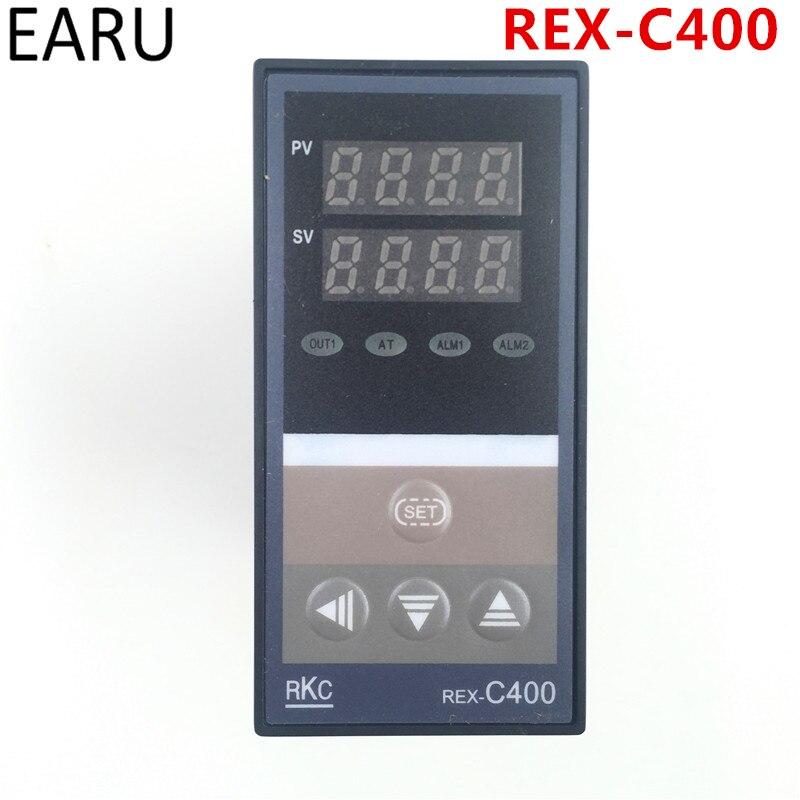 PID цифровой Температура контроллер РКЦ REX-C400 Универсальный Вход реле SSR Выход для автоматической упаковки машины термостат горячей