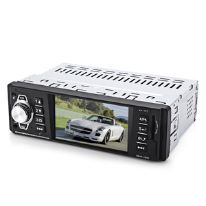 "Hot Sale 1 Din Car Radio MP5 Player 4.1"" HD Display Car Audio Video MP5 Player with FM USB SD AUX Ports Support Rear View Camera"