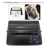 Professional Tattoo Stencil Paper Maker Transfer Machine Flash Thermal Copier Printer Tattooing Supplies US Plug 2018 New Sale