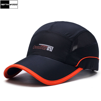 [NORTHWOOD] Fashion Quick Drying Summer Baseball Cap Men Bone Feminino Breathable Women Snapback Sun For Casquette