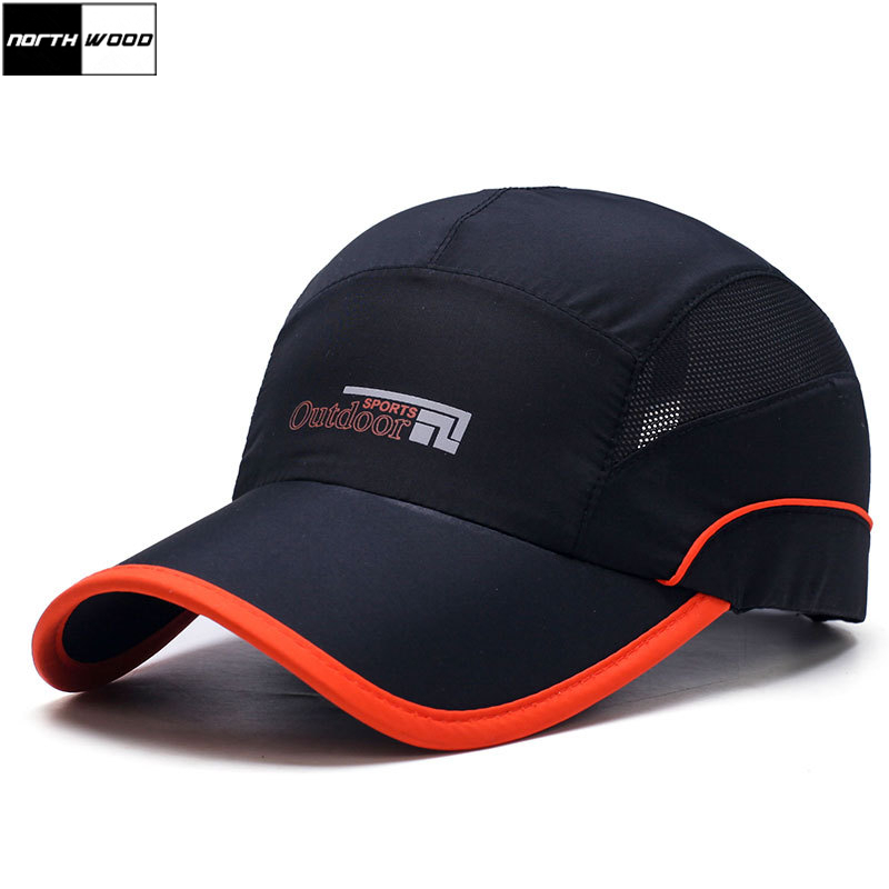 [NORTHWOOD] Fashion Quick Drying Summer   Baseball     Cap   Men Bone Feminino Breathable Women Snapback Sun   Cap   For Summer Casquette