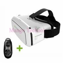 VR BOX Moke Plastic Version Wireless Mouse gamepad VR 3D Glasses google cardboard HD VR Glasses + Phone Bluetooth