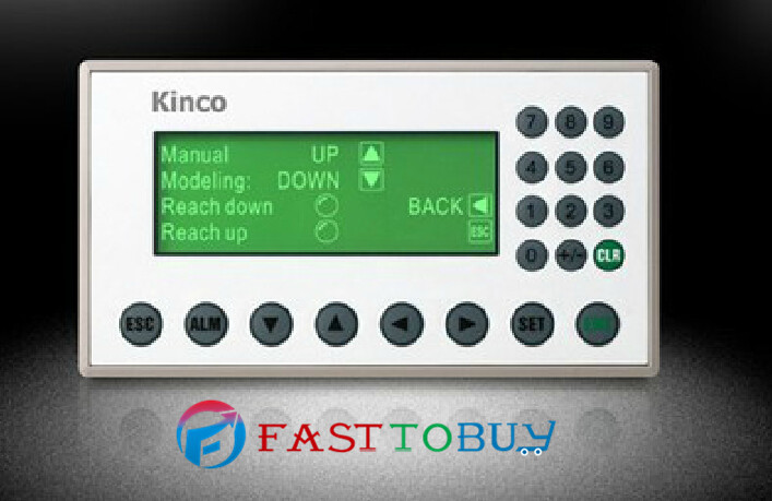 4.3STN Single Color HMI Text MD224L 192*64 20 Keys with Free Programming Cable&Software Wholesale new original kinco 4 3 stn hmi text display md204l 192 64 20 keys with programming cable