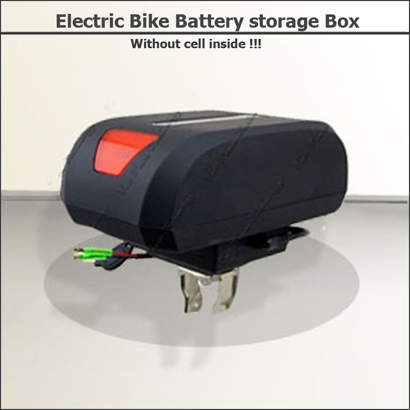 foldable ectric bike storage box folding bicycle battery storage case with power indicator necessary accessory