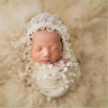 PWPROPS Set Photography Prop Baby Wrap Photo Prop Newborn