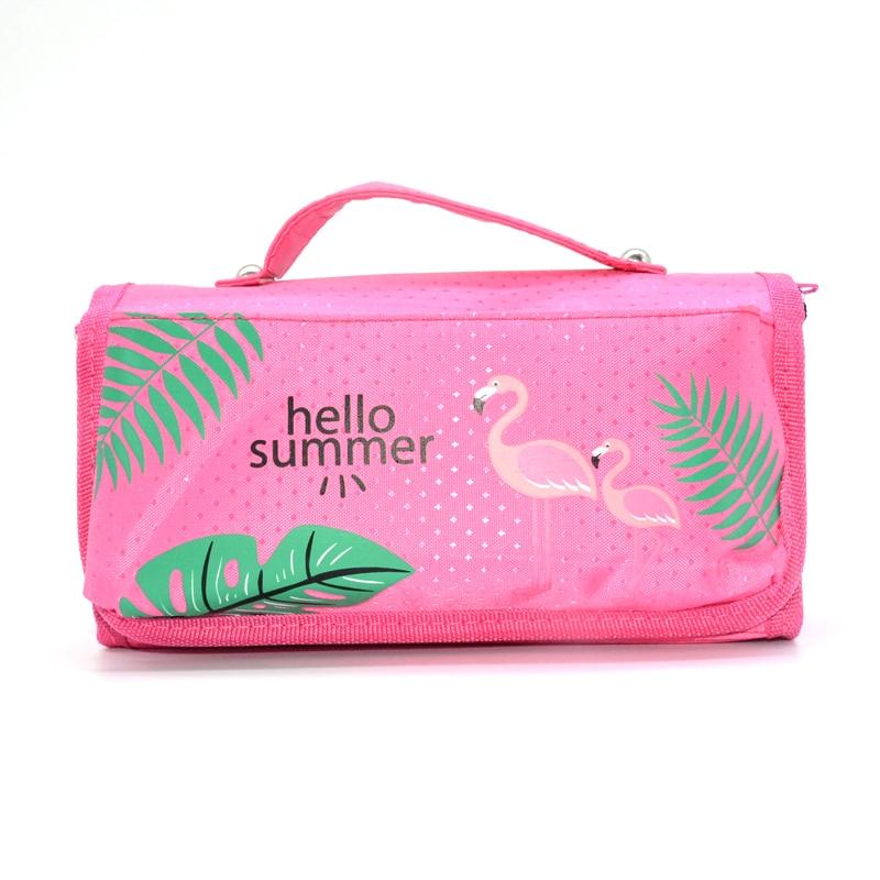 Pencil Case Etui Estuche Escolar Flamingo School Pencilcase Material Escolar Box Cartucheras Para Lapices Cute Pineapple Bag все цены