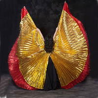 Isis Wings Costume Belly Dance Adult Kids Wings Of Isis Belly Dance One Piece 360 Isis